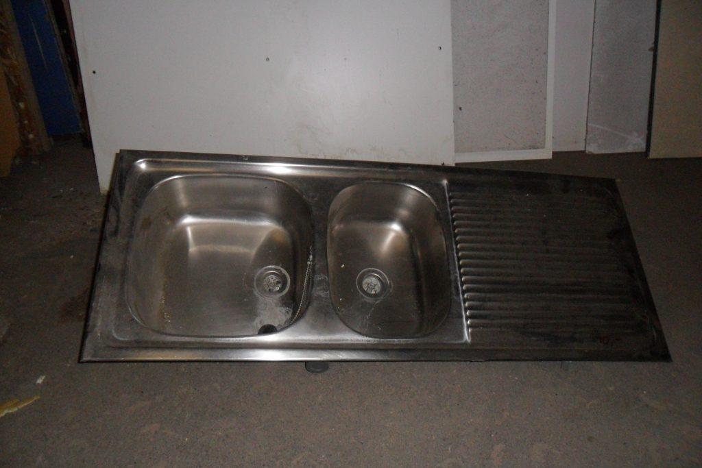 Aluminium keukenblad met spoelbak diversenHovensbouwservice # Wasbak Urinoir_160023