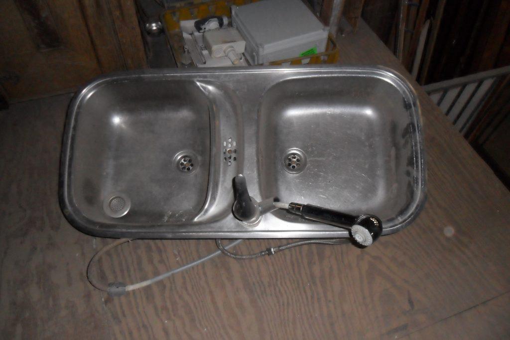 Aluminium keukenblad met spoelbak diversen . hovensbouwservice
